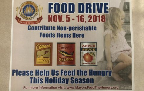 Do more than give thanks this holiday season, give food for Feed the Hungry