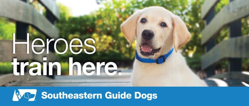 "Southeastern Guide Dogs ""Raise a Puppy"" program"
