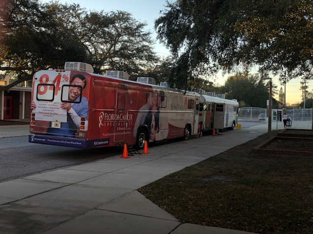Not in Vein: Donating Blood at Manatee