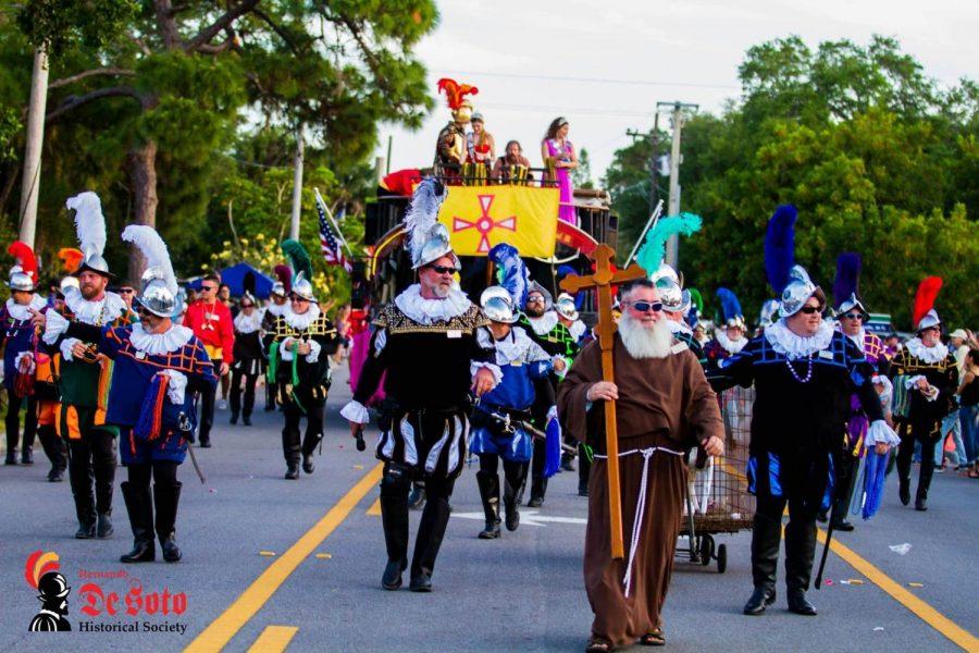 MHS+at+the+DeSoto+Grand+Parade