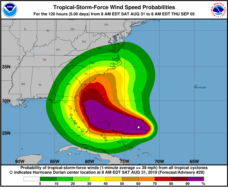 Major hurricane to bear down on Florida