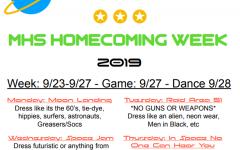 2019 homecoming spirit week
