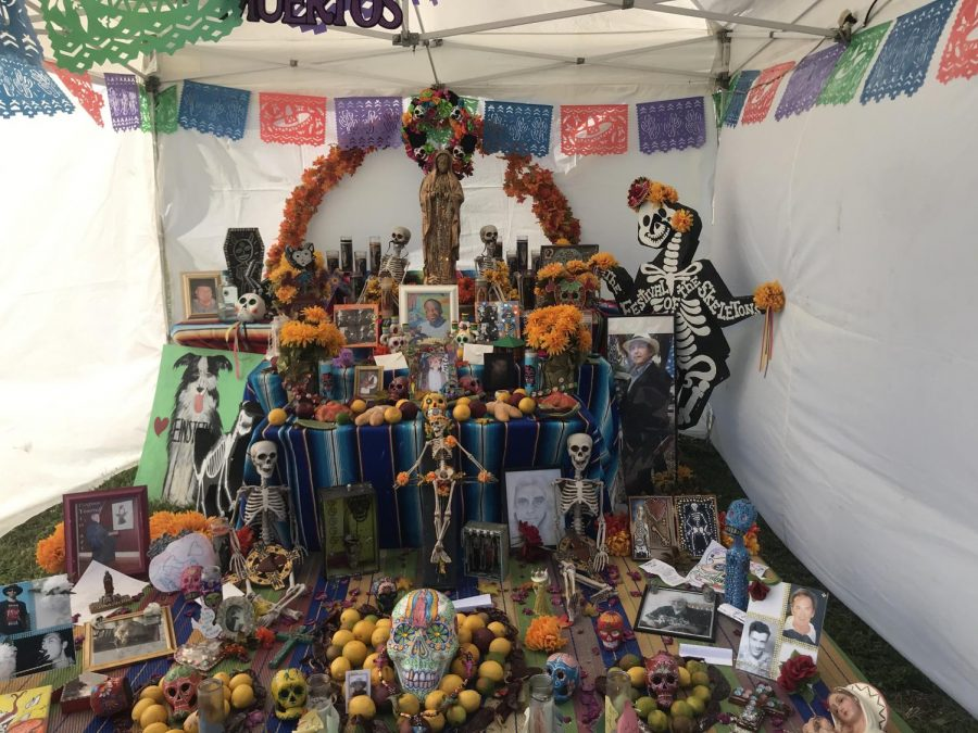 Community Reflection. The village and many locals come together and give honor to their lost loved ones. Many people had taken part in the shrine by adding a note of their choice. A small business owner who attended the festival said