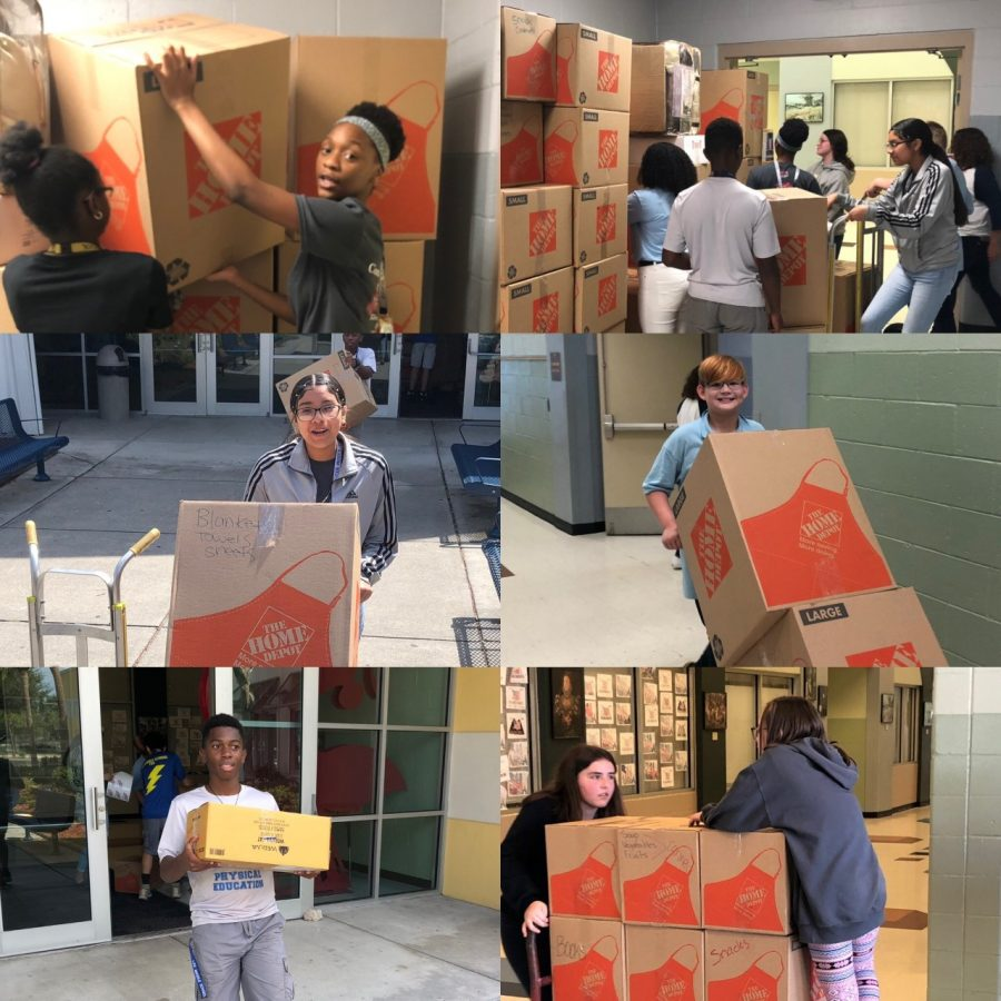 School district sends over 10,000 pounds of supplies to Bahamas