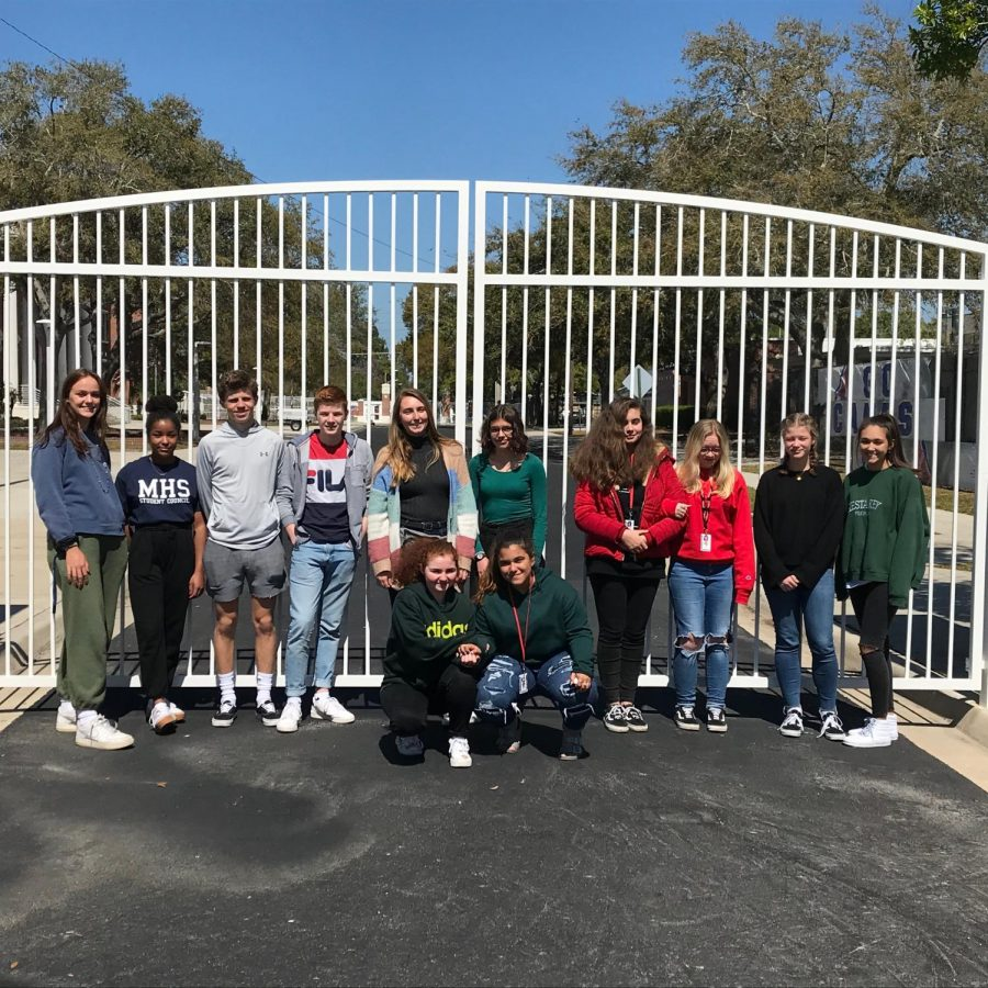 Making new friends. FACES offers a remarkable opportunity for students from France and Bradenton to connect and build a strong relationship. Host students showed the French students what life would be as an American teen.