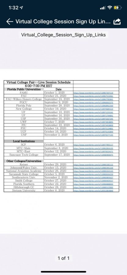 Online College Fair