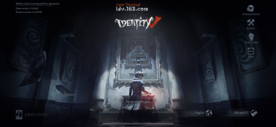 IdentityV%3A+The+haunting+halls+of+the+Oletus+manor+greet+the+player+when+they+first+enter+the+game.