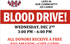 Blood Drive Wednesday 12/2/2020!