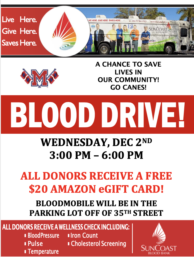 Blood+Drive+Wednesday+12%2F2%2F2020%21