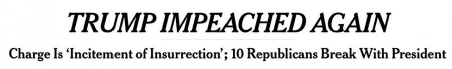 Second Impeachment of President Trump