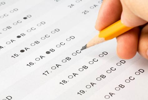 Senior exam schedule